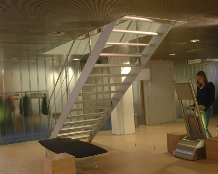 Designtrap Concorde in een fitness