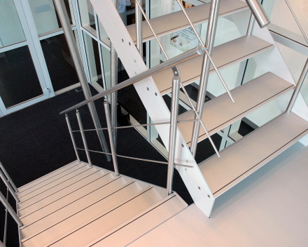 Design stair Concorde in the ITO tower