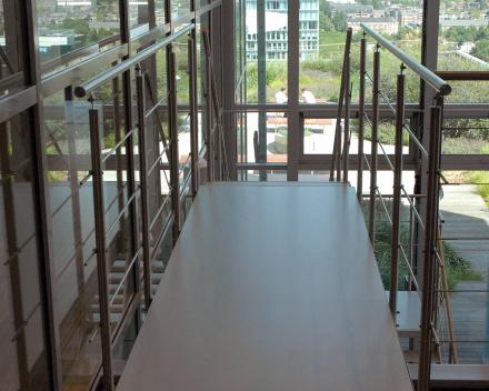 Interior bridge in the ITO tower