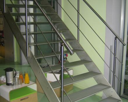 Designtrap Concorde in het Spity Hotel
