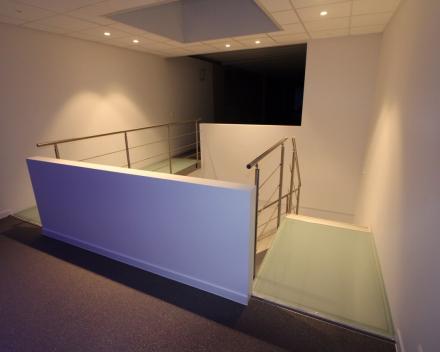 Designtrap Concorde in het bedrijf Muylle Engineering