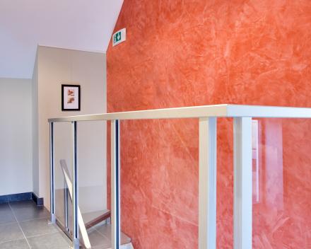 Escalier design Concorde dans le bureau Patrimonia