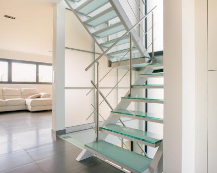 Glazen trap bij De Chou in Geraardsbergen