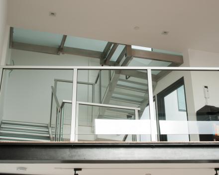 Glazen trap bij GVB in San Francisco (US)