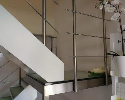Glazen trap bij Origine Spa in Jemappes