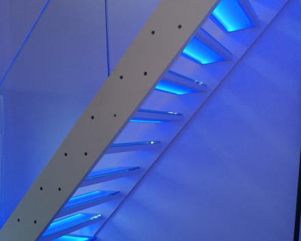 Verlichte trap Cameleon C van Graah