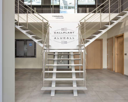 Modern stair Triangle in the company Callplast