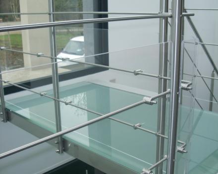Moderne trap Triangle bij Hirson