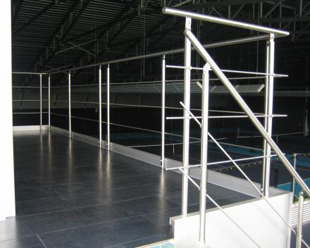 Moderne trap Triangle in de firma Koddaert