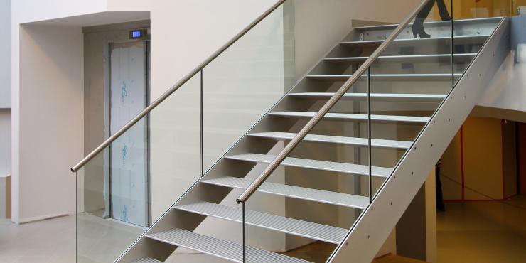 Escaliers au travail