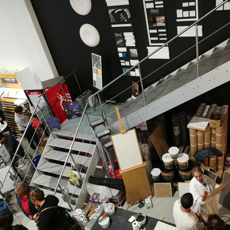 Escalier large Concorde XL dans de le magasin Proshop