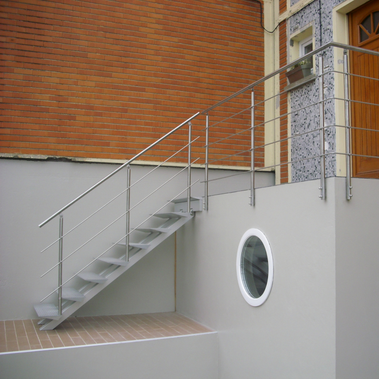 Escalier outdoor Projet Triangle9