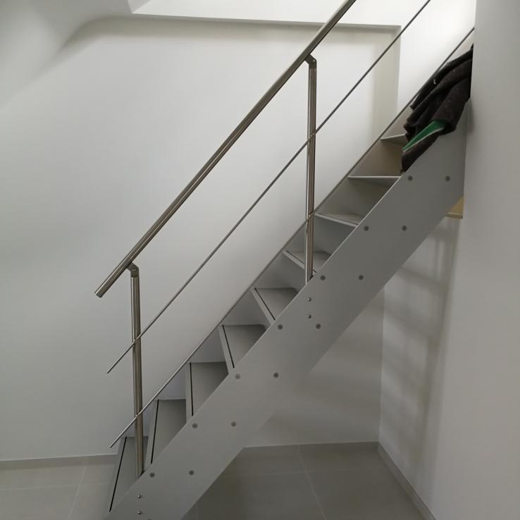 Escalier design Concorde Projet De Schuyter