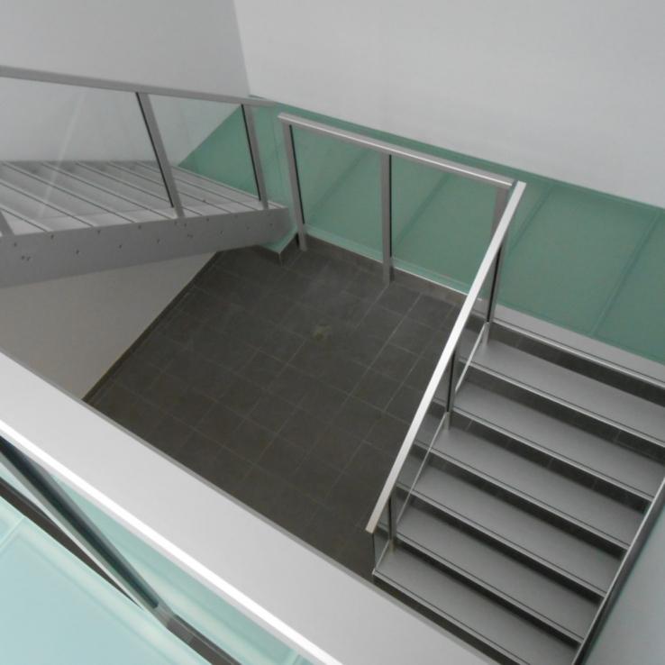 Escalier design Concorde dans l'entreprise Europa Cuisson