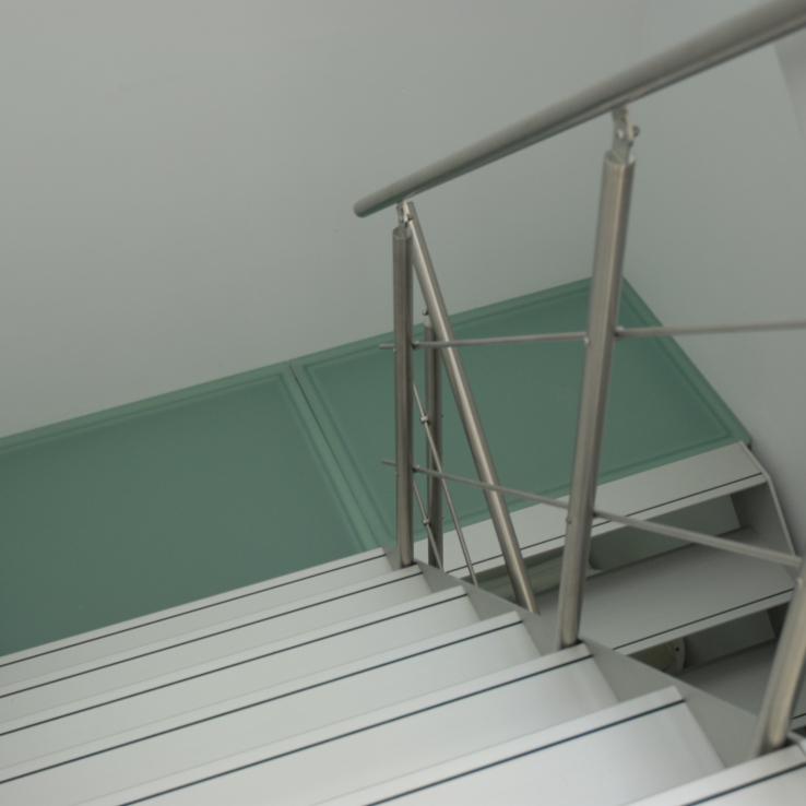 Escalier design Projet Concorde3
