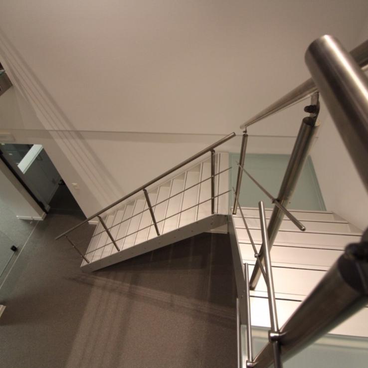 Escalier design Concorde dans l'entreprise Muylle Engineering