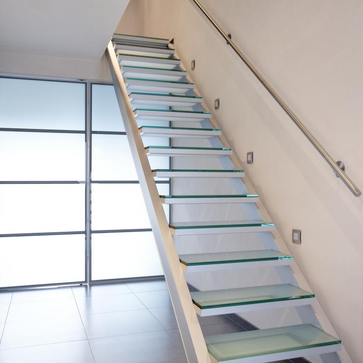 Glazen trap bij Mertens