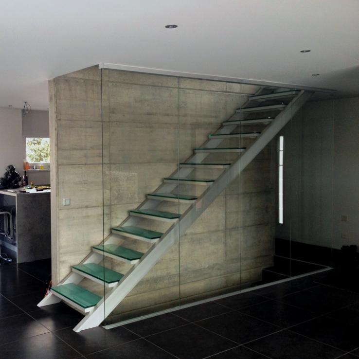 Glazen trap bij Monet