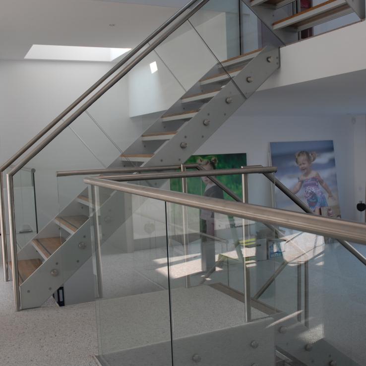 Escalier en bois Projet CameleonC1 à Ijburg (NL)
