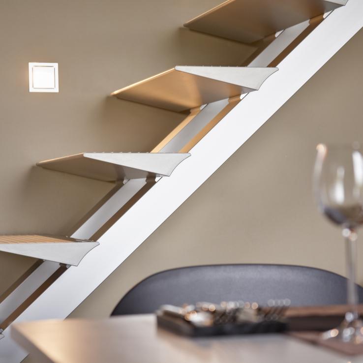 Escalier Modern Triangle chez La Fille d'Oscar