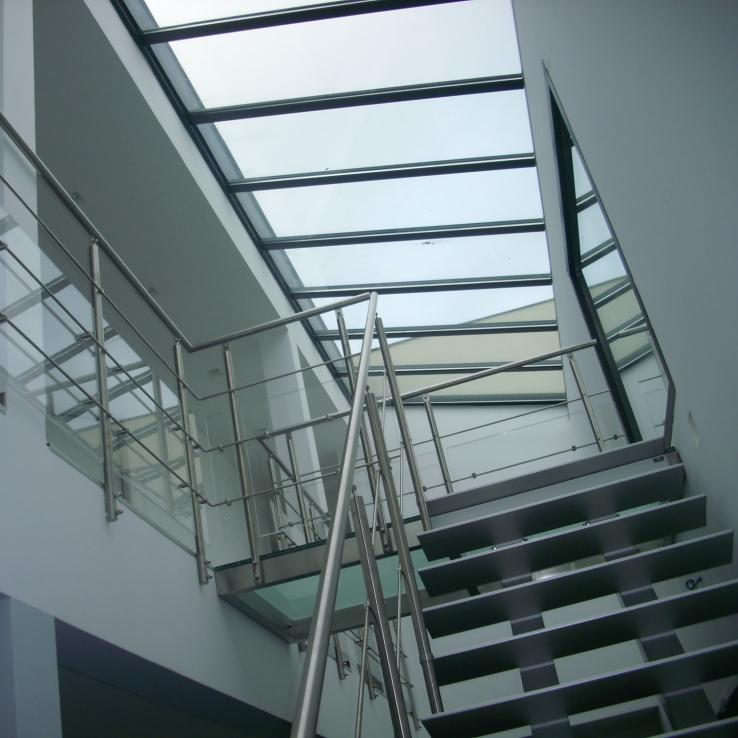Escalier moderne Triangle chez Hirson