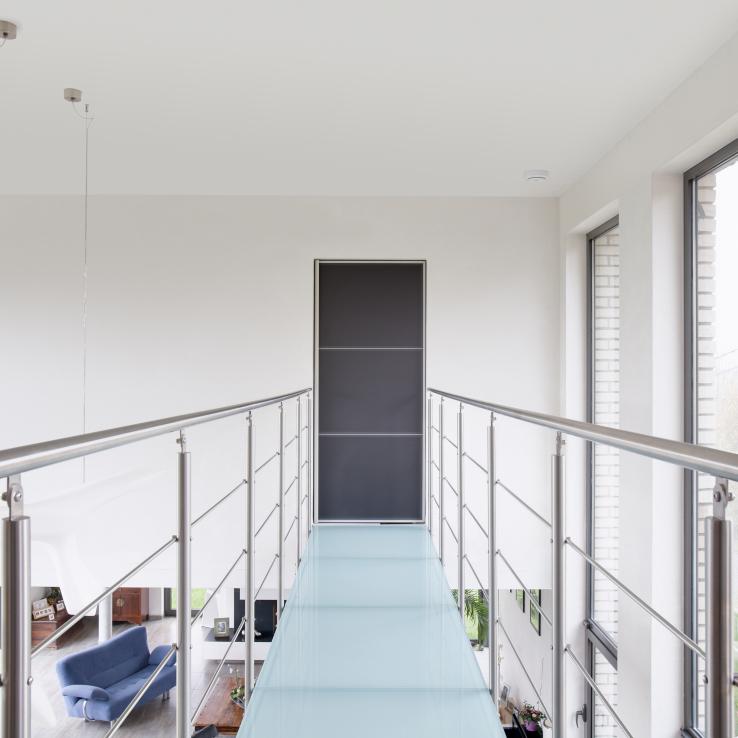 Escalier moderne Triangle chez Waignain