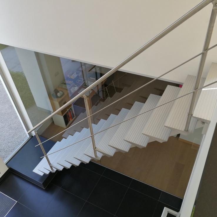 Escalier Moderne Triangle chez Wyseur
