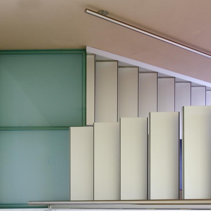Escalier suspendu Solitaire chez de Gersem