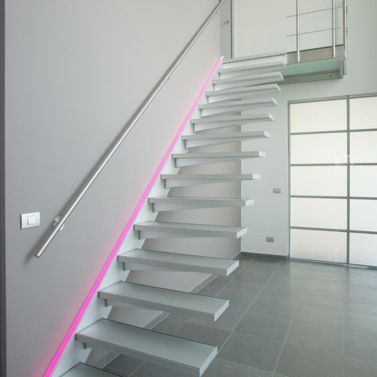 Zwevende trap Solitaire bij Malin-Minner